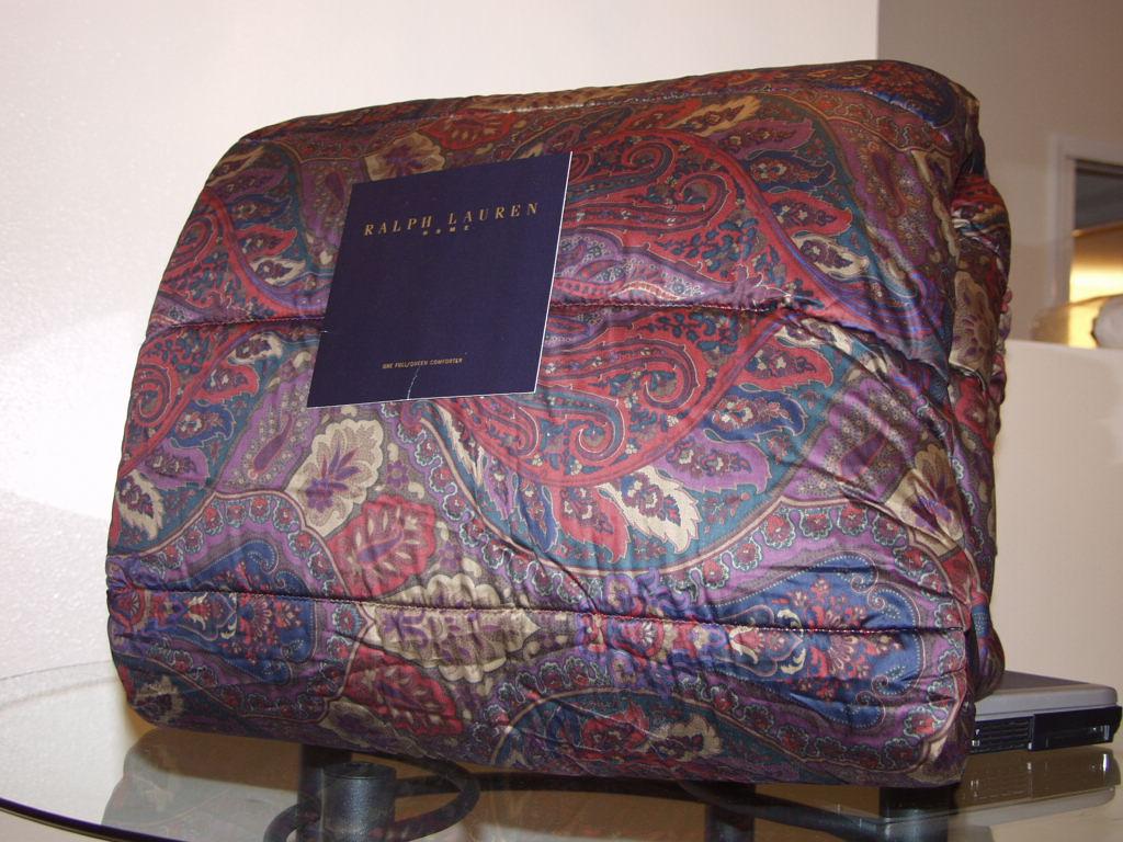 Ralph Lauren Socialite King Comforter 4pc Set New