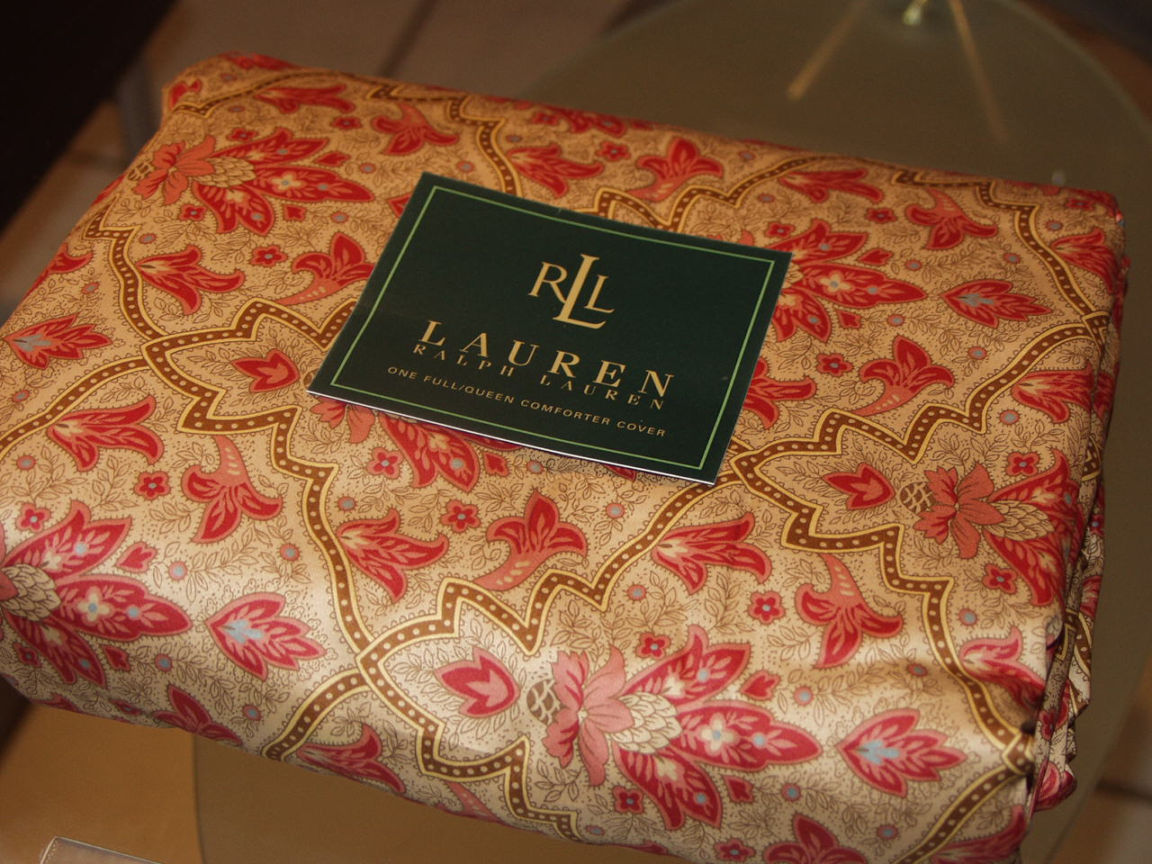 Ralph Lauren Langham Doncaster King Duvet Cover Set On
